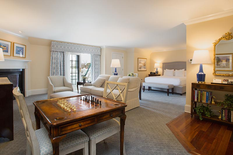 Henlopen Suite at The Bellmoor Inn and Spa Hotel, Delaware